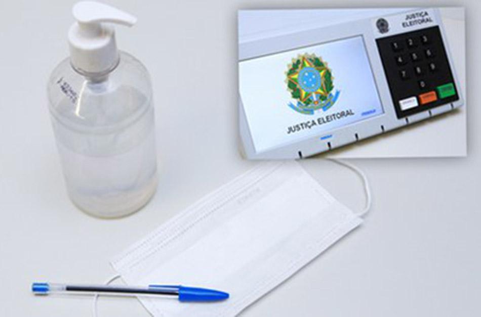 TCE-MT Justiça Eleitoral adota medidas sanitárias diante da pandemia de Covid-19promove campanha Outubro Rosa